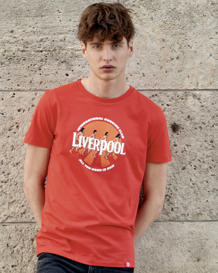 Liverpool red t-shirt for men